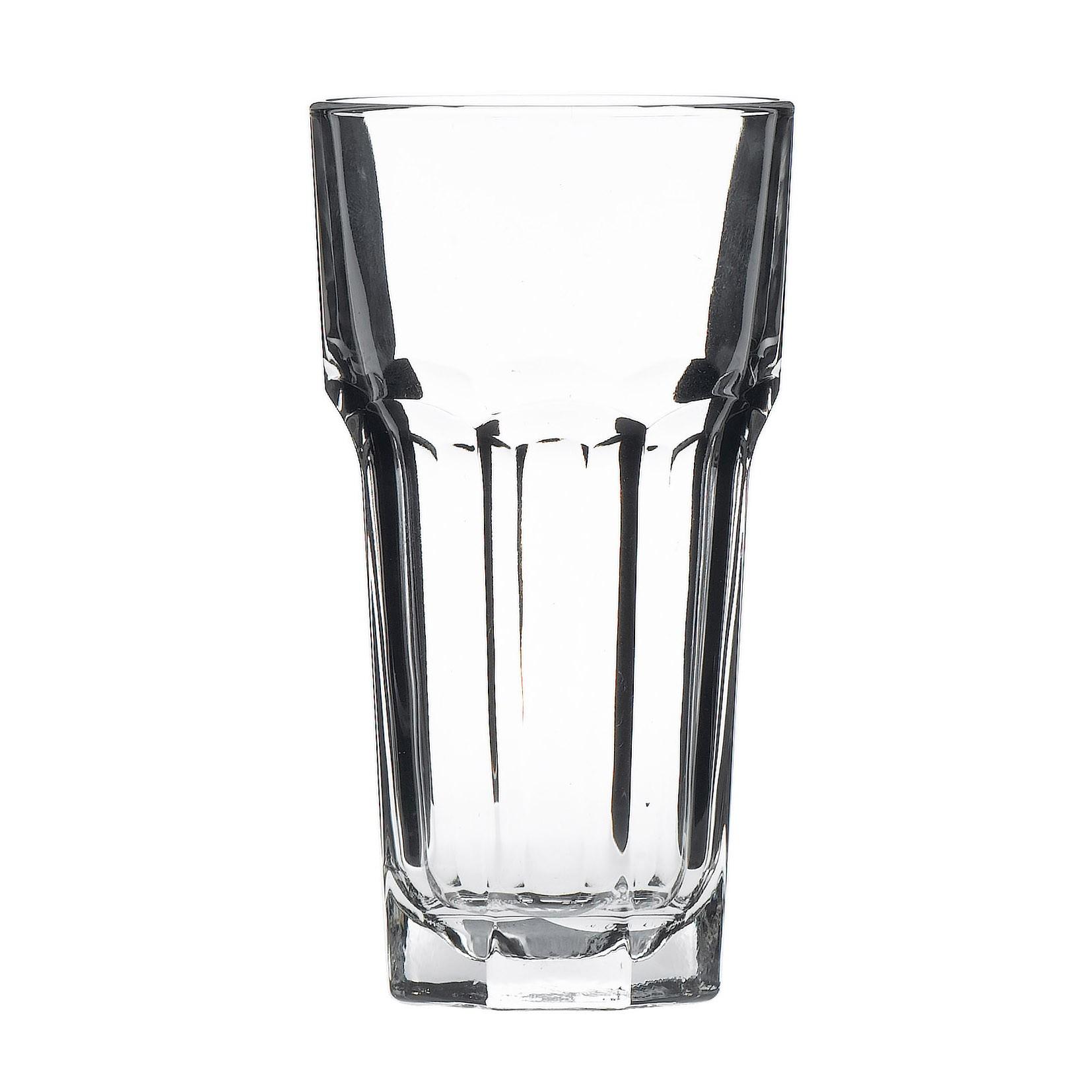 Gibraltar Original DuraTuff Tall Cooler Glass Tumblers 34cl 12oz L@10oz CE