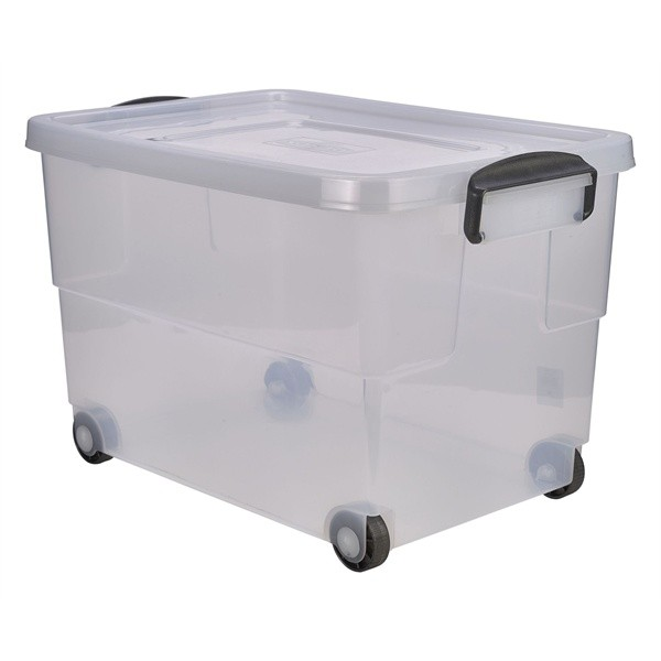 Mobile Storage Container 60L 59 x 40 x 38cm