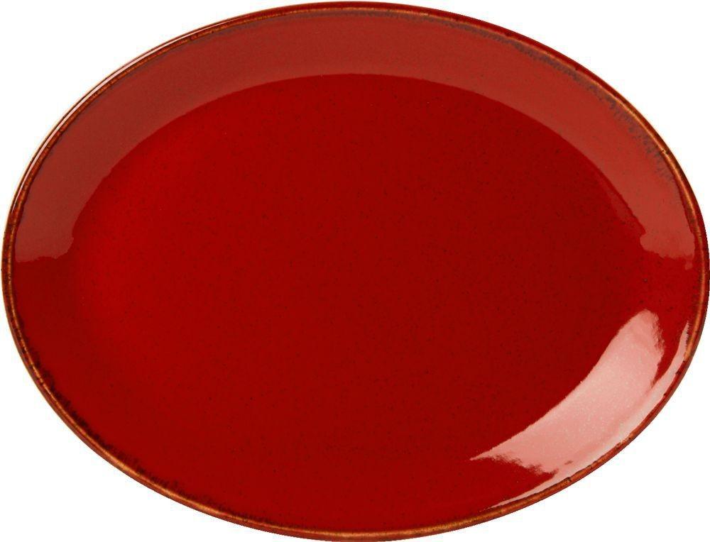 "Placa Magma Oval 30 cm / 12"""