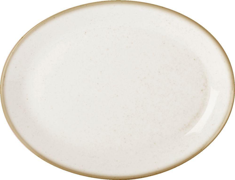"""La harina de avena plato ovalado de 30 cm / 12"""""""