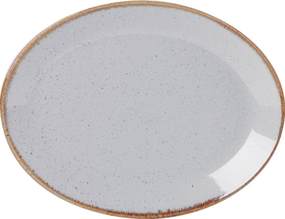 """Placa oval de piedra de 30 cm / 12"""""""