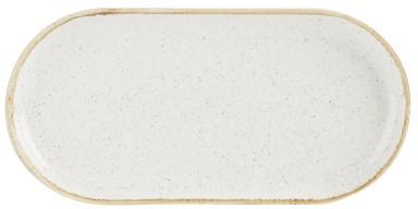 """La harina de avena estrecha oval Placa 32x20cm / 12.5x8"""""""