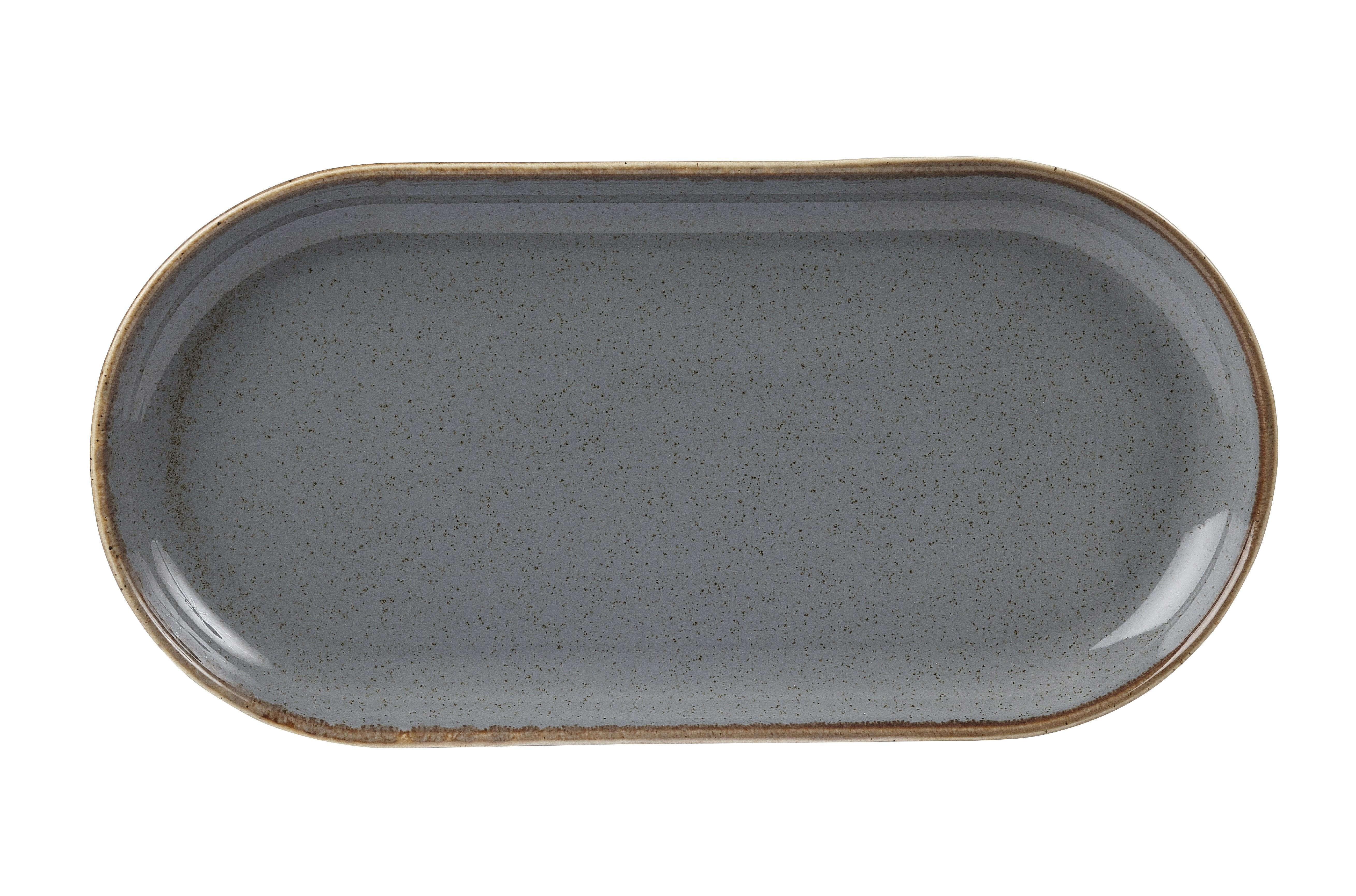 "Irrumpir en estrecha oval Placa 32x20cm / 12.5x8"""