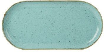 Sea Spray estrecha oval Placa 32x20cm / 12.5x8""
