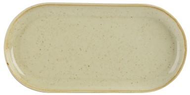 "Trigo Narrow Oval Plate 32x20cm / 12.5x8"""