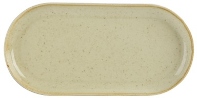 Trigo Narrow 30cm plato ovalado