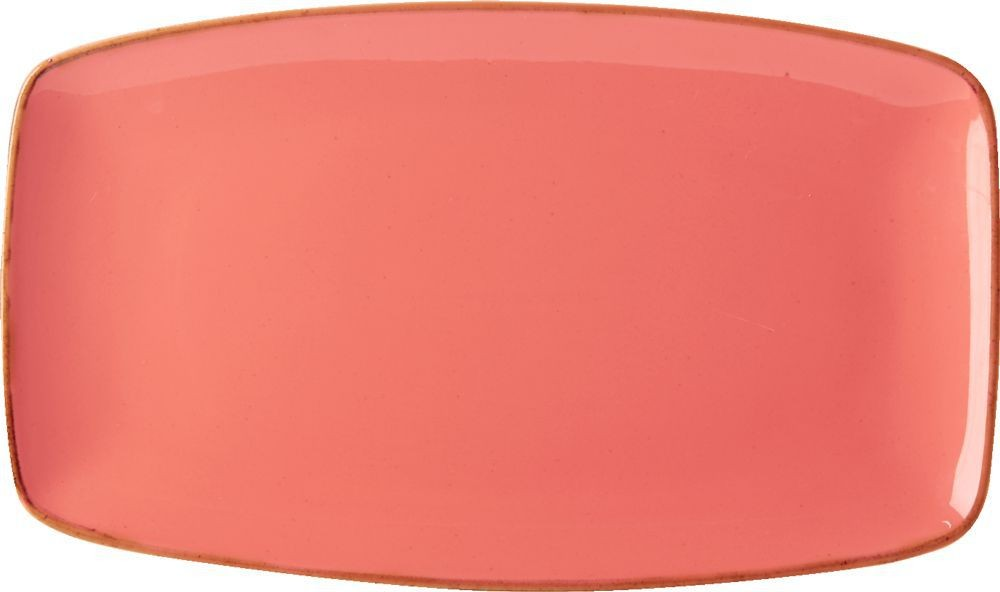 "Coral placa rectangular 31x18cm / 12 ""x7"""