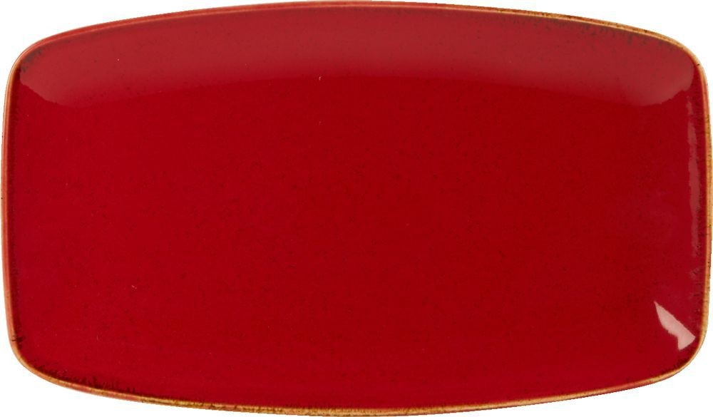 Magma rectangular 31x18cm Plate
