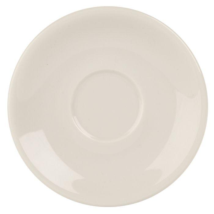 Porcelite White 12cm Saucers