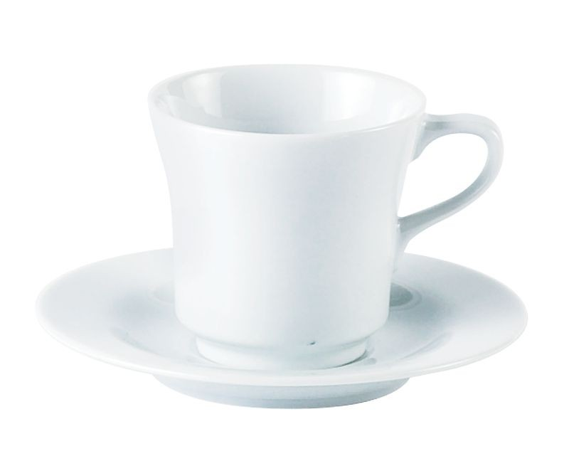 Porcelite White Saucers 15cm