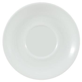 Porcelite White Saucers 16cm