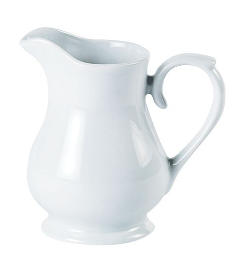 Porcelite White Standard Jug 14cl 5oz
