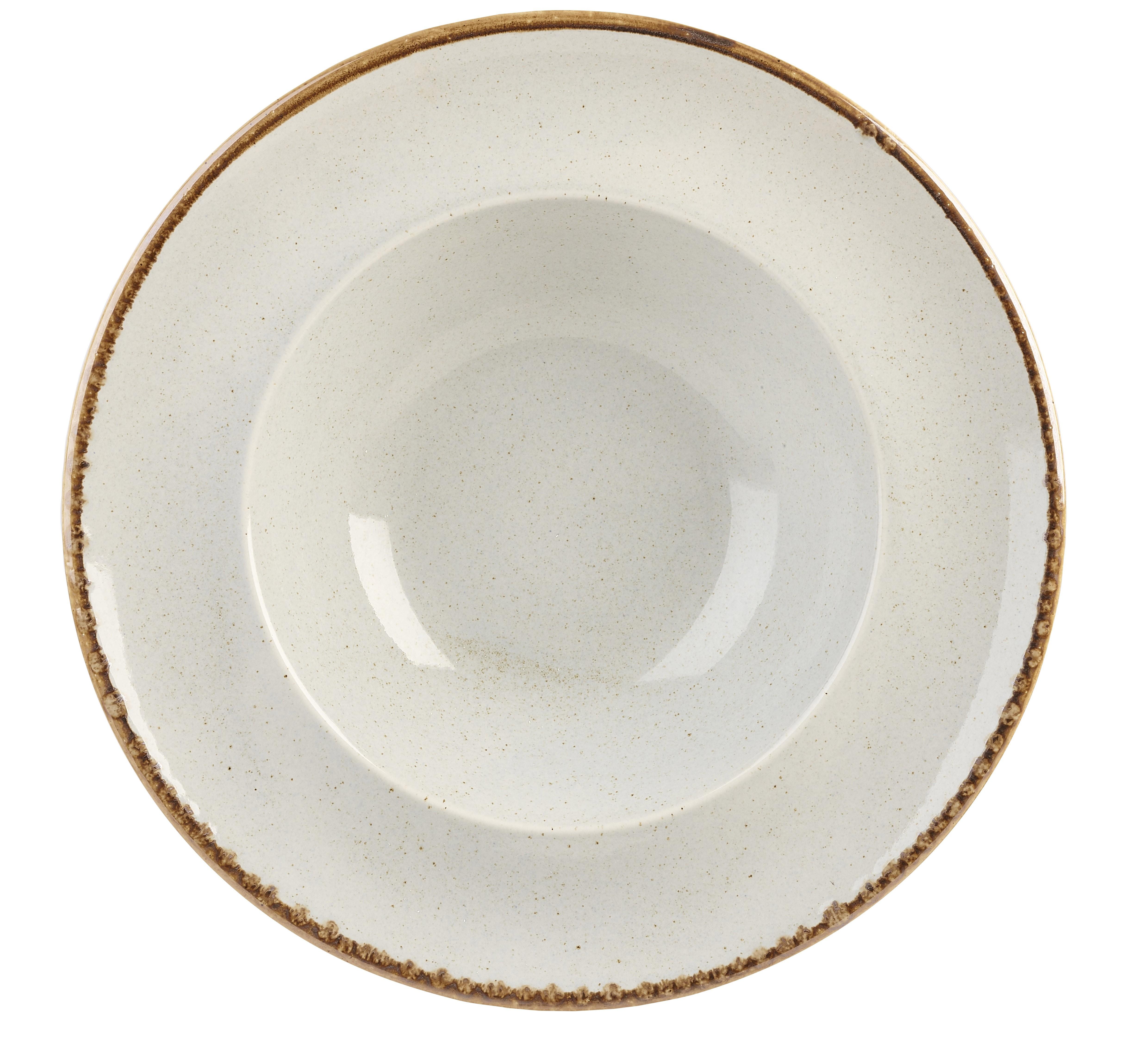 Pasta de piedra de 30 cm de la placa
