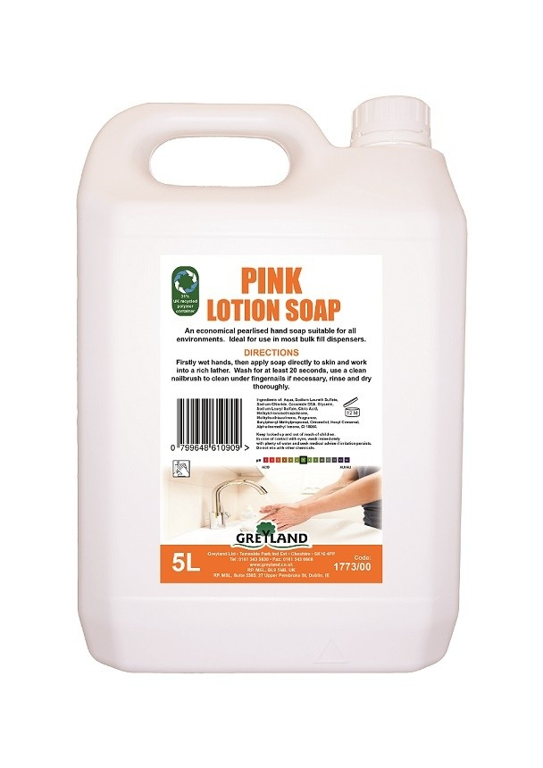 Pink Lotion Soap 5Ltr