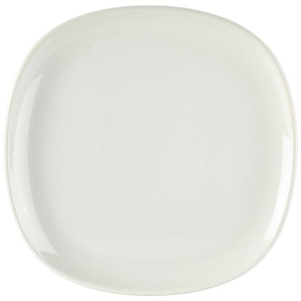 Ellipse Square Plate 17cm