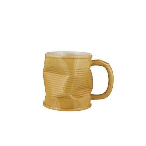 Caramel Squashed Mug 32cl 11.25oz