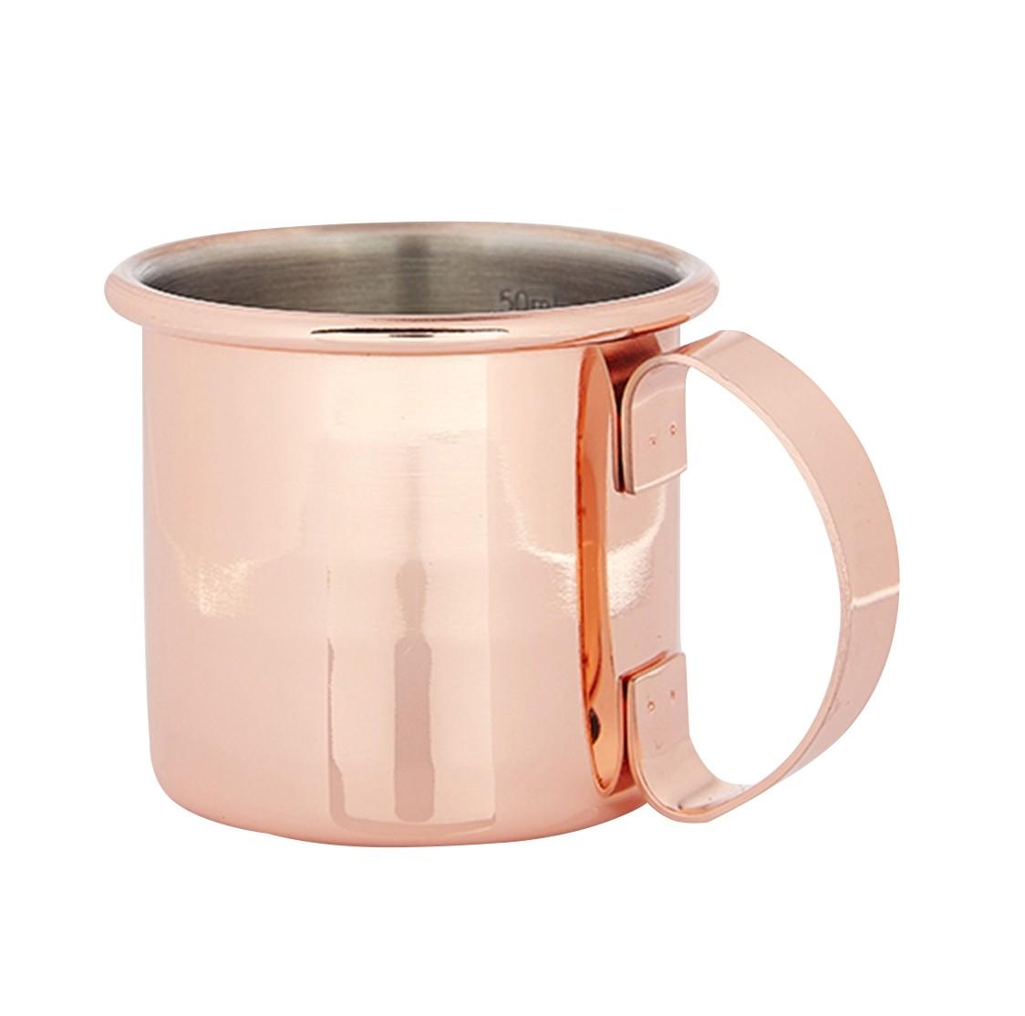 Copper Straight Jigger Mug