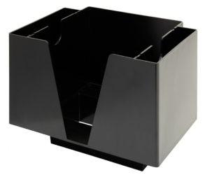 Bar Caddy 3 Compartments Black