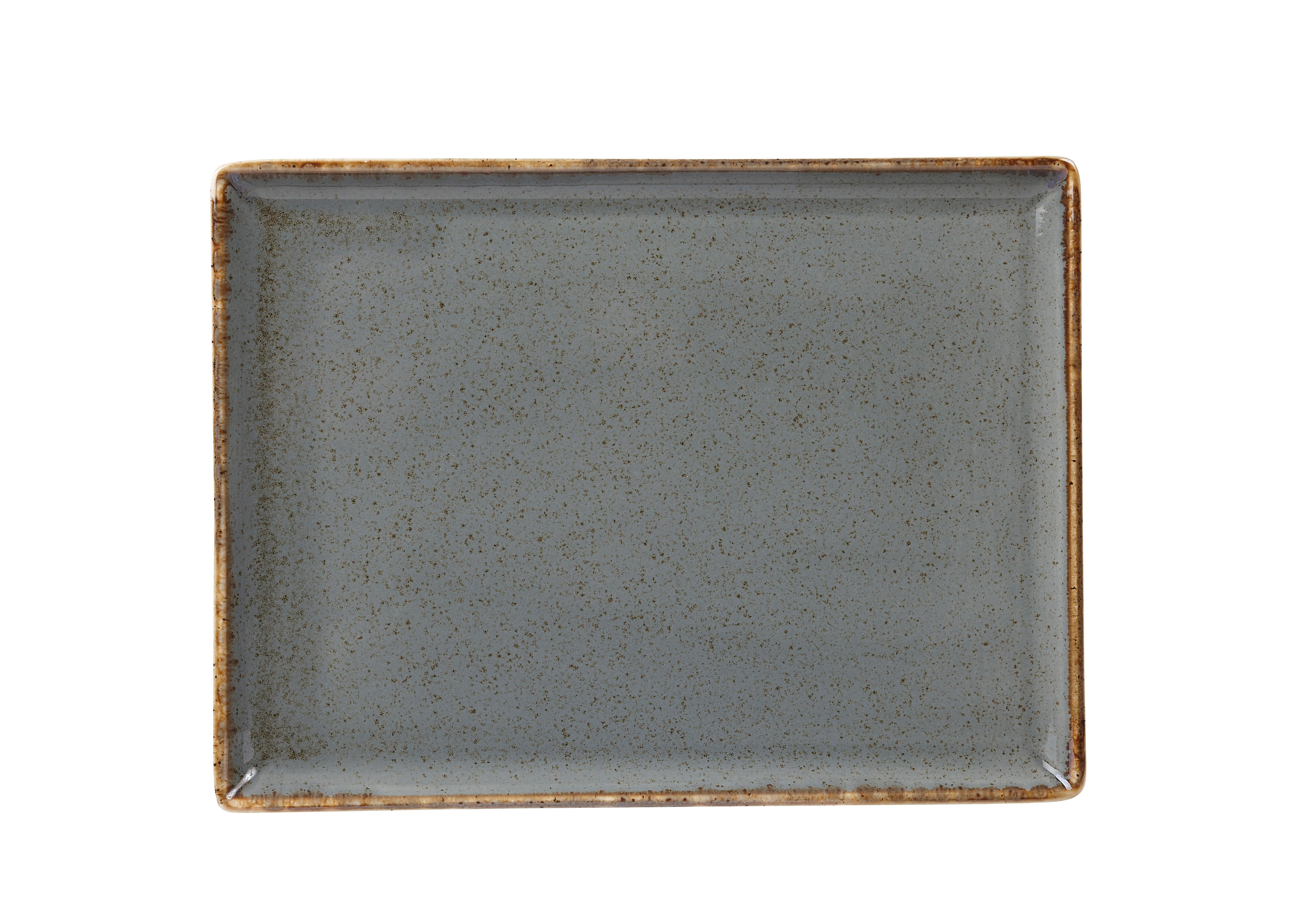 "Tormenta rectangular Plato de 27x20cm / 10.75x8.25"""