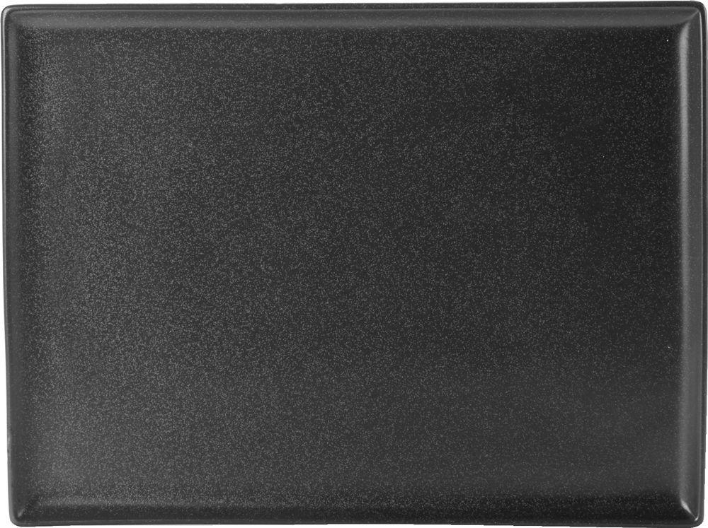 """Grafito Plato rectangular 27x20cm / 10.75x8.25"""""""