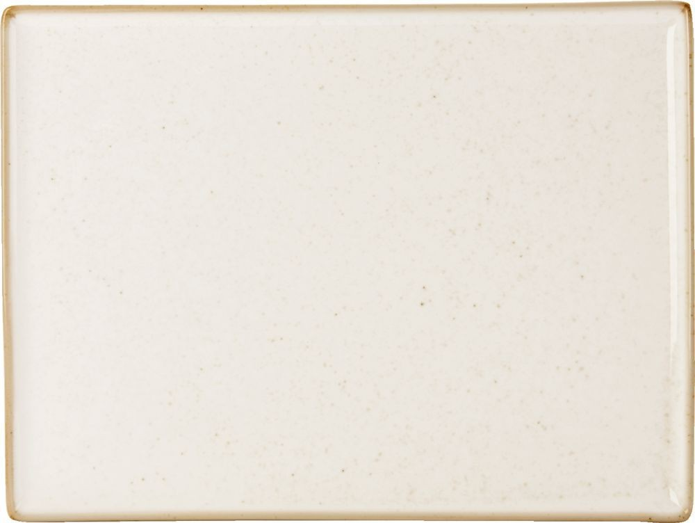 La harina de avena Plato rectangular 35x25cm