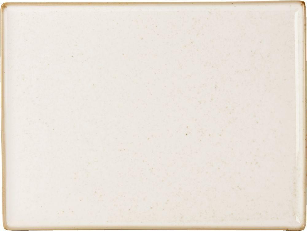 "La harina de avena Plato rectangular 27x20cm / 10.75x8.25"""