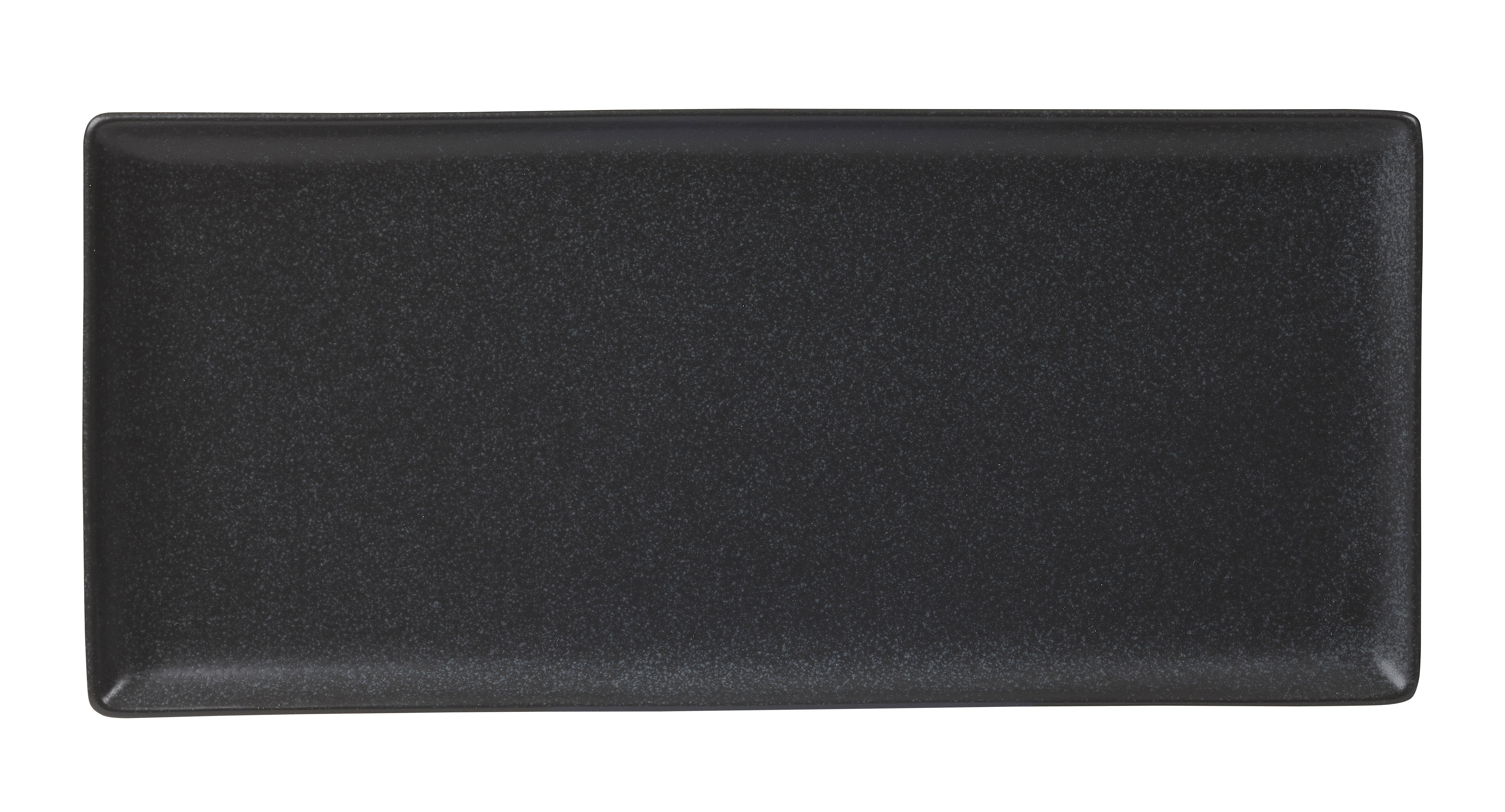 "Plato rectangular de grafito 35x15.5cm / 13.75 ""x 6"""
