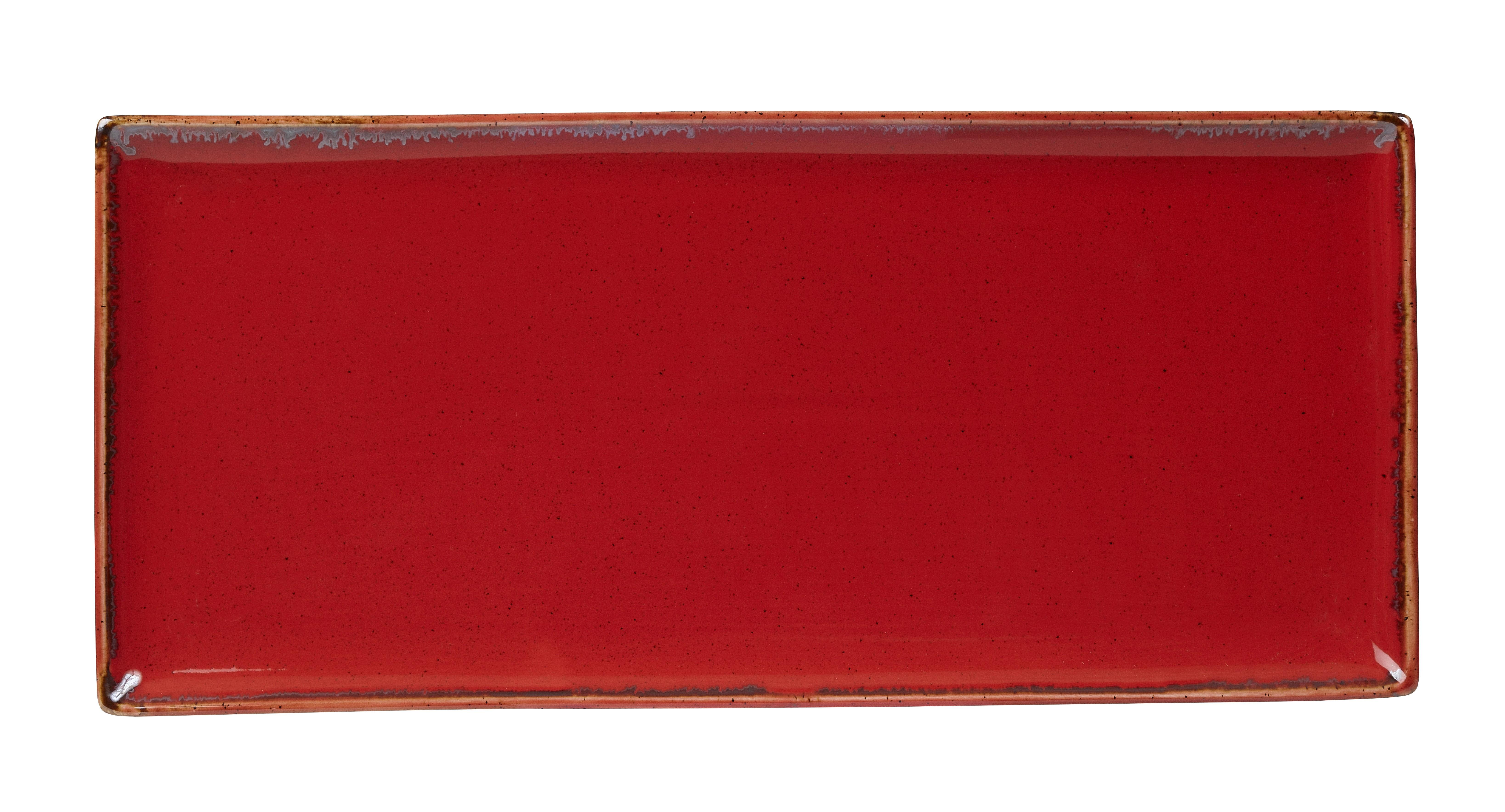 "Magma rectangular Plato 35x15.5cm / 13.75 ""x 6"""