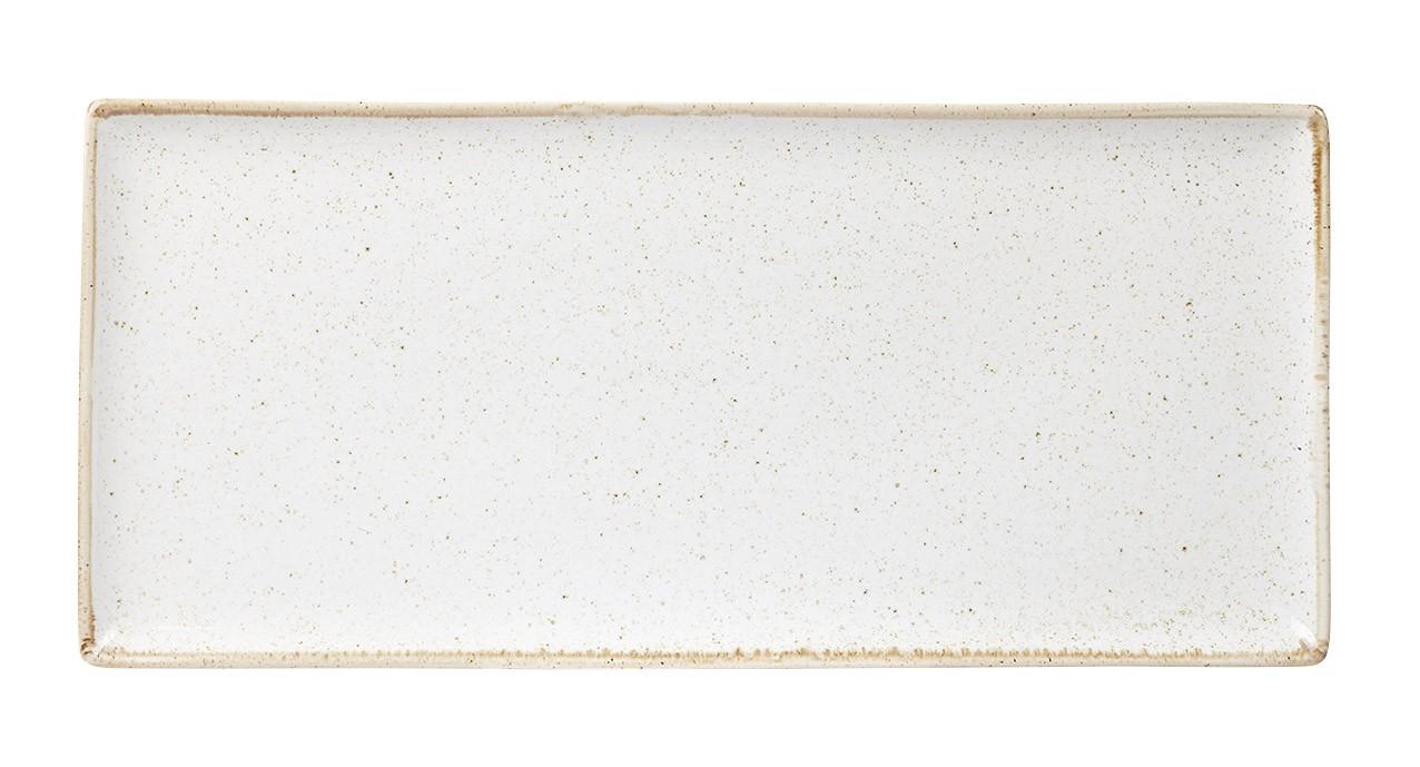 "La harina de avena Plato rectangular 35x15.5cm / 13.75 ""x 6"""
