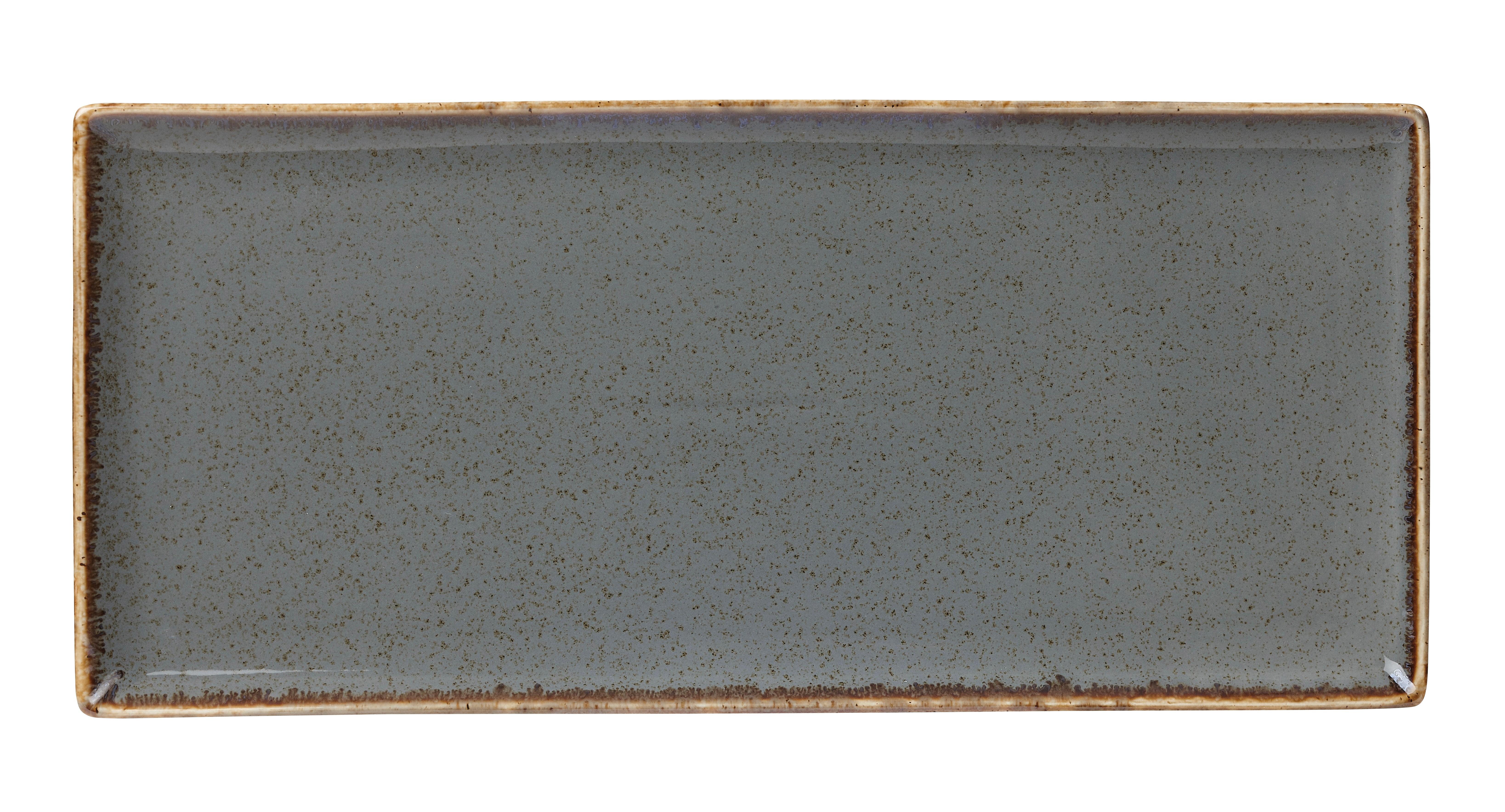 "Tormenta rectangular Plato 35x15.5cm / 13.75 ""x 6"""