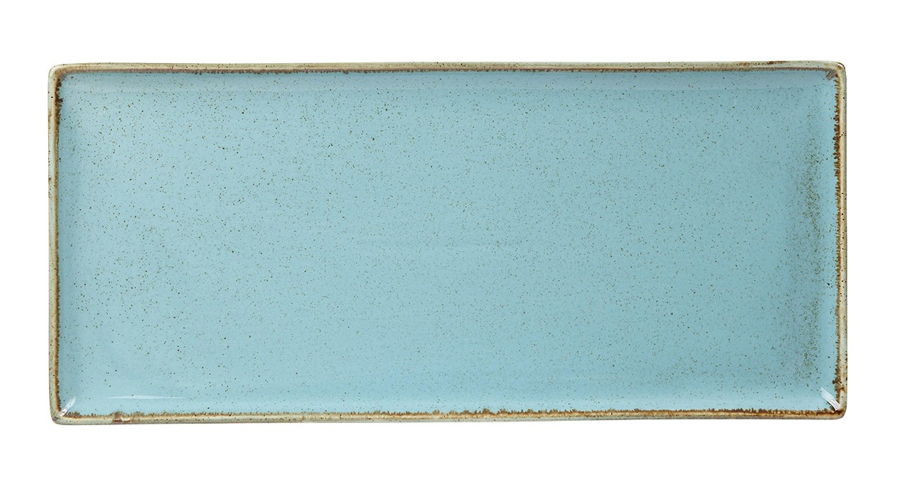 "Sea Spray rectangular Plato 35x15.5cm / 13.75 ""x 6"""