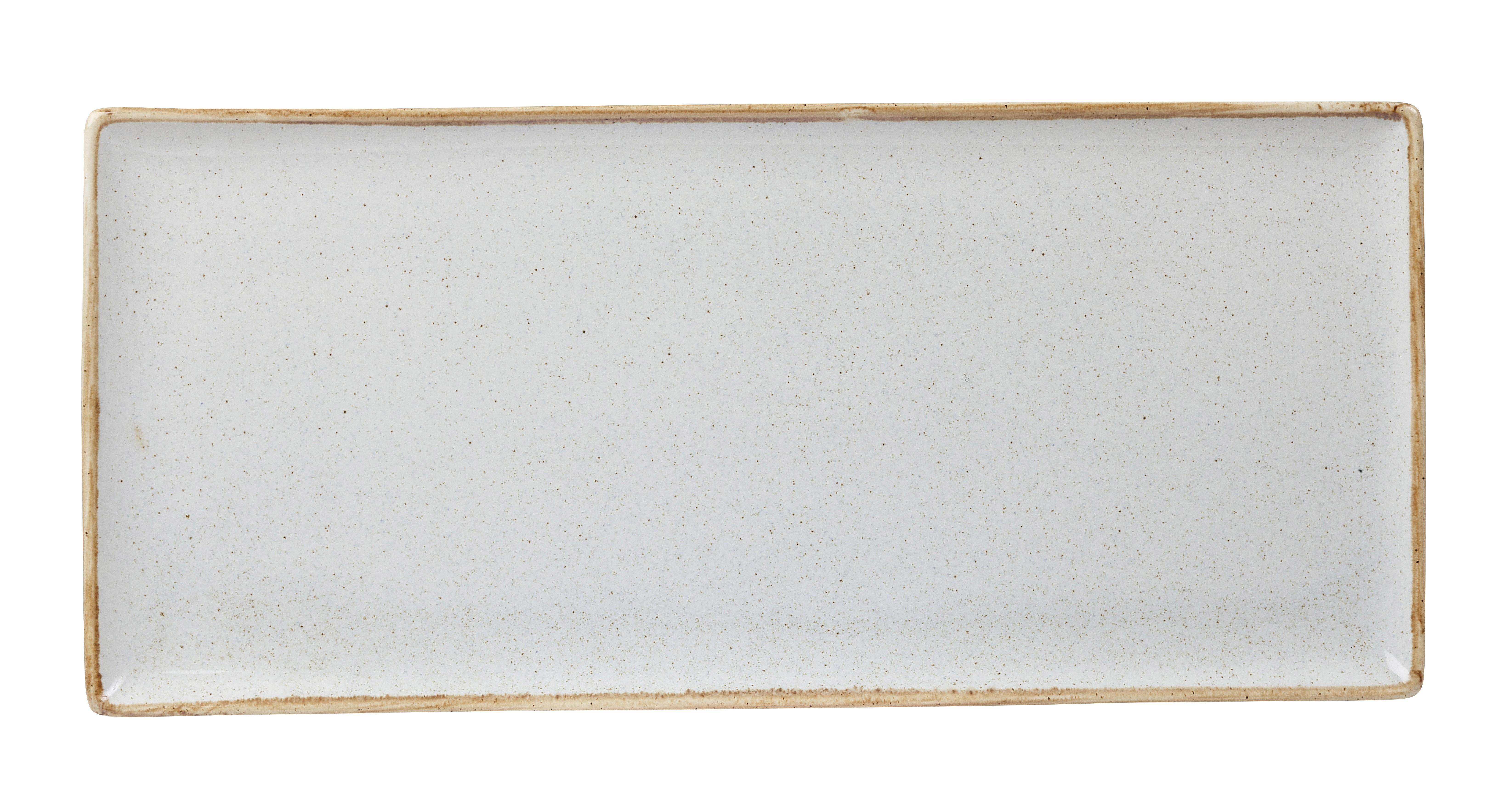 "Piedra rectangular Plato 35x15.5cm / 13.75 ""x 6"""
