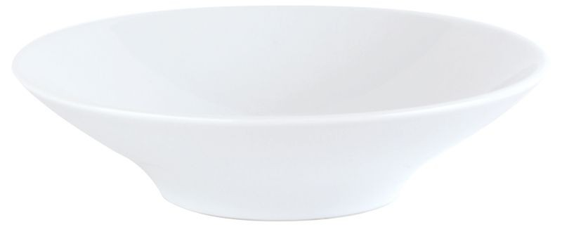 Porcelite White Footed Wok Bowl 20cm