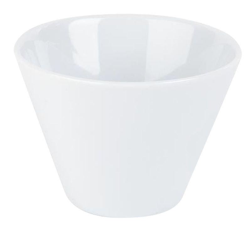 Porcelite White Conic Bowl 9 x 6.5cm
