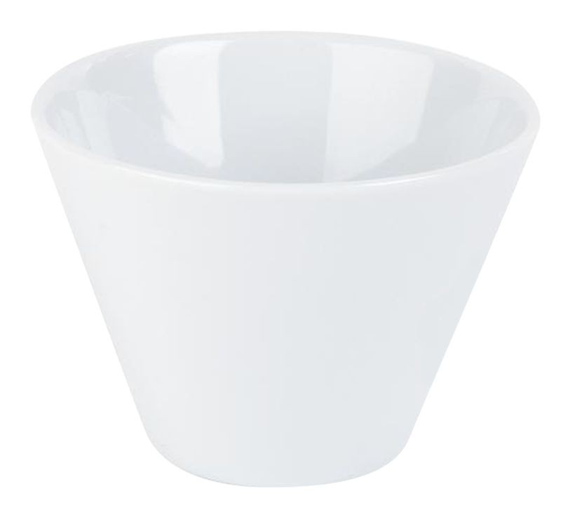 Porcelite White Conic Bowl 5.5 x 4.5cm