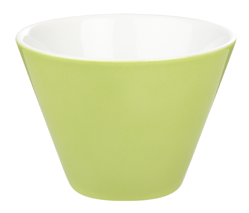 Porcelite Green Conic Bowl 12cm