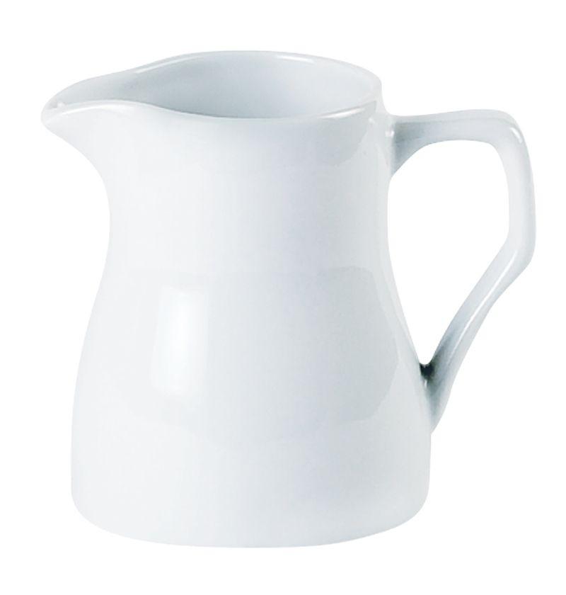 Porcelite White Traditional Milk Jugs 32cl/11oz