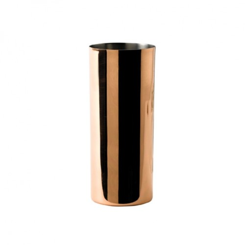 Copper Collins Glass with Nickel Lining 42cl/14.75oz