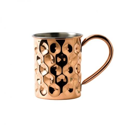 Copper Dented Mug Slim 42cl/14.75oz