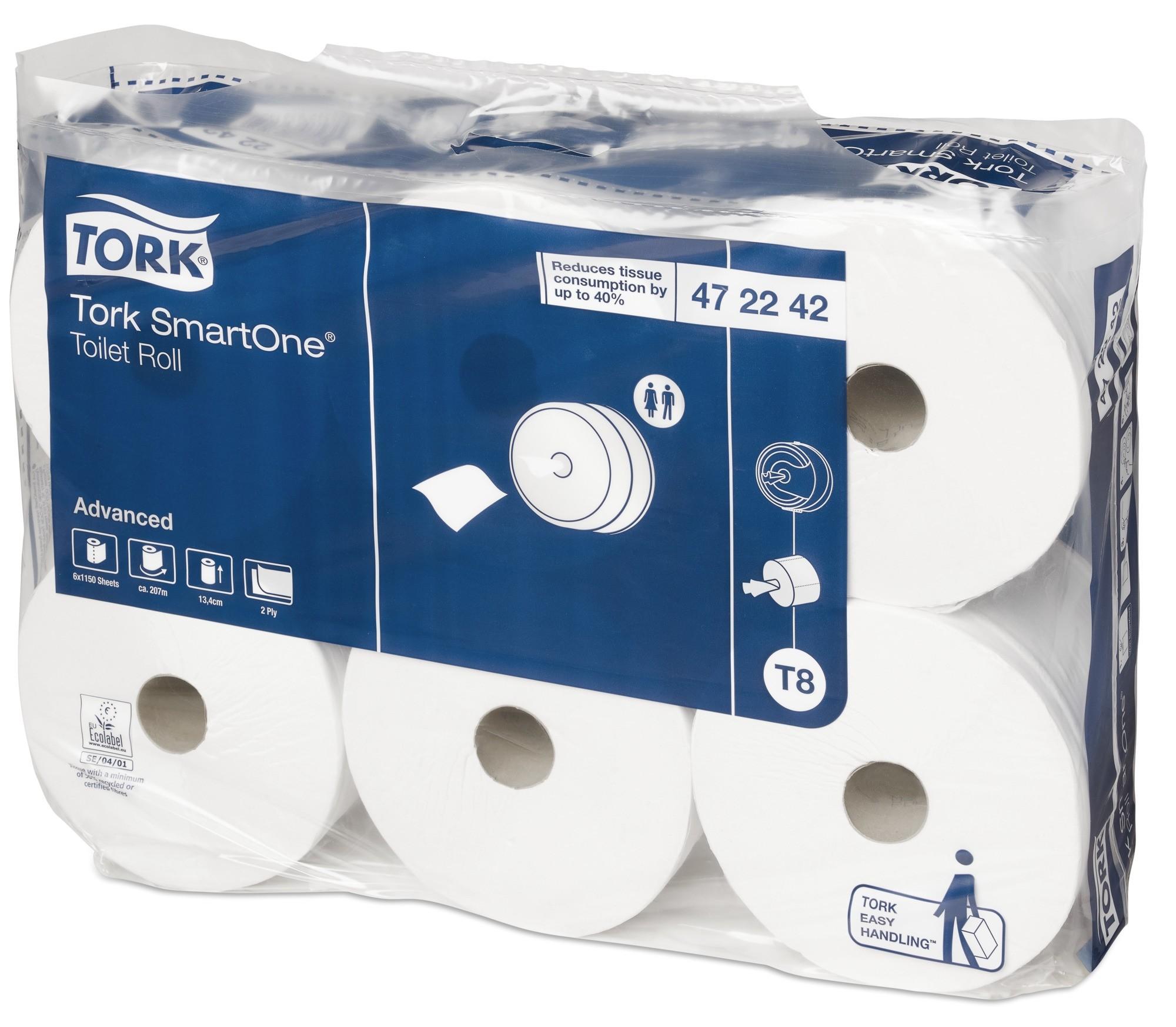 Tork SmartOne Toilet Roll 2ply