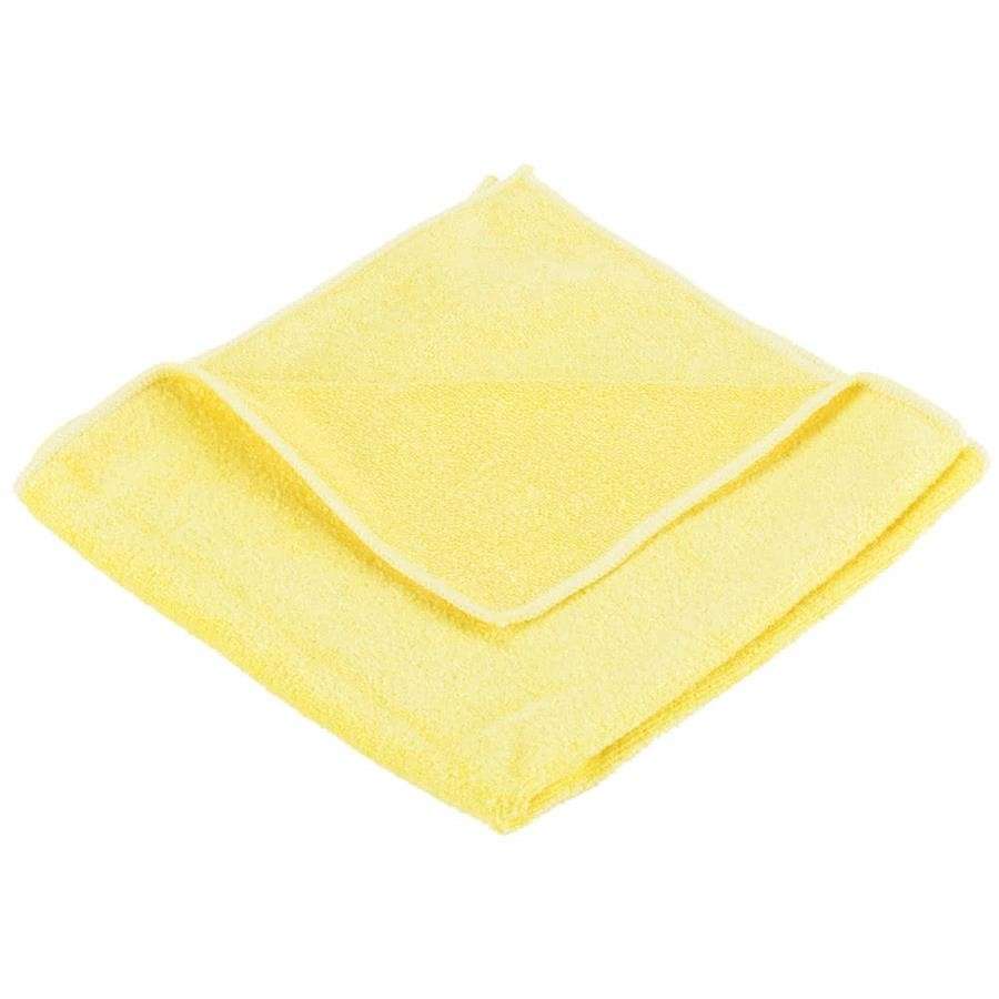 Optima General Purpose Microfibre Cloths Yellow