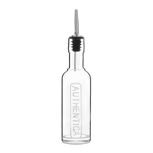 Bitters Bottle with Silicone Stainless Steel Pourer