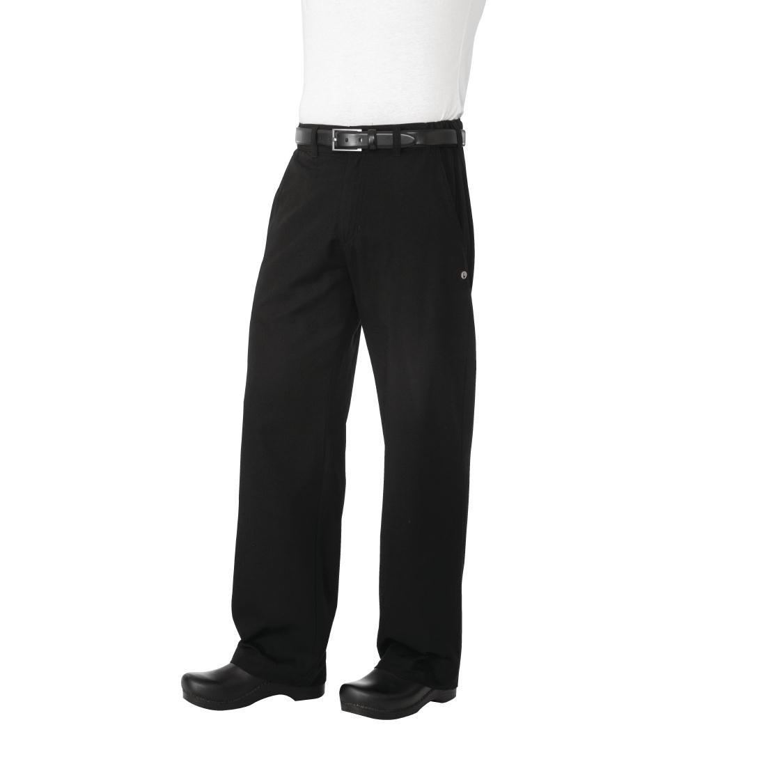Chef Works Unisex Executive Chefs Herringbone Trousers