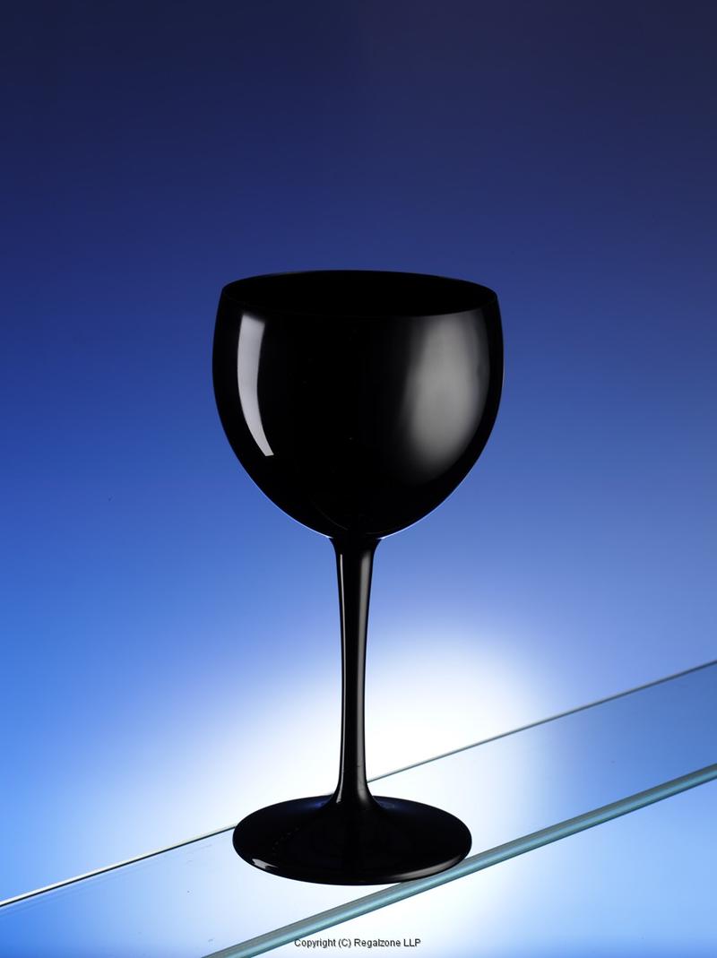 947e0d679c1 Premium Unbreakable Balloon Wine Glasses Black 14oz / 400ml