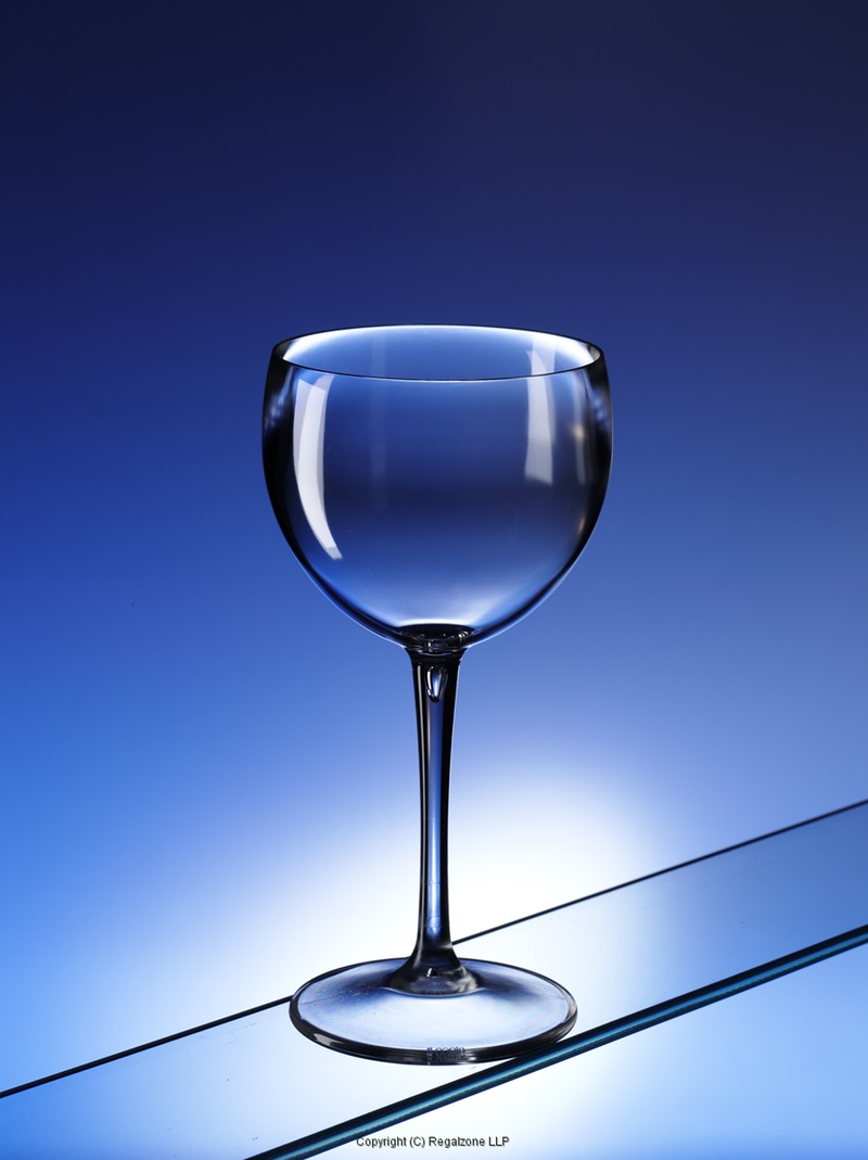 Polycarbonate Balloon Wine Glasses Clear 15oz / 400ml