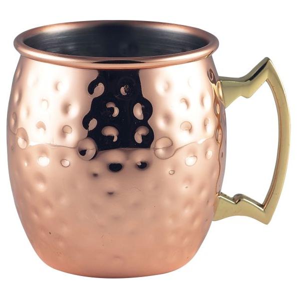 Barrel Copper Hammered Mug 40cl/14oz