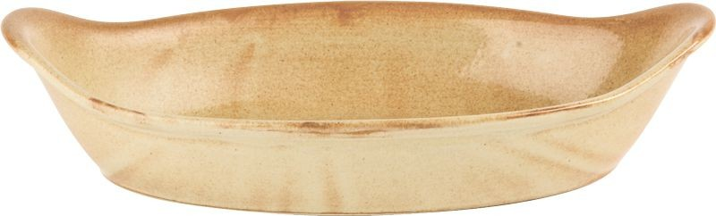 Rustico Llama espigada oval Platos 25cm