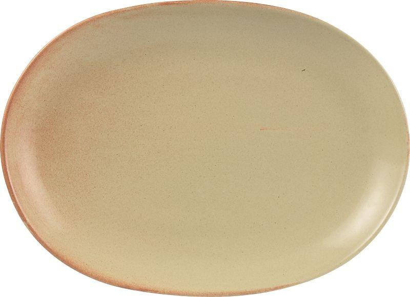 Placas Rustico Llama vitrificados Gres ovales 30,5 x 21cm