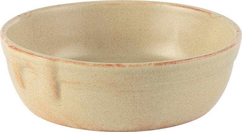 Rustico Llama individual Pie plato redondo 15.5cm