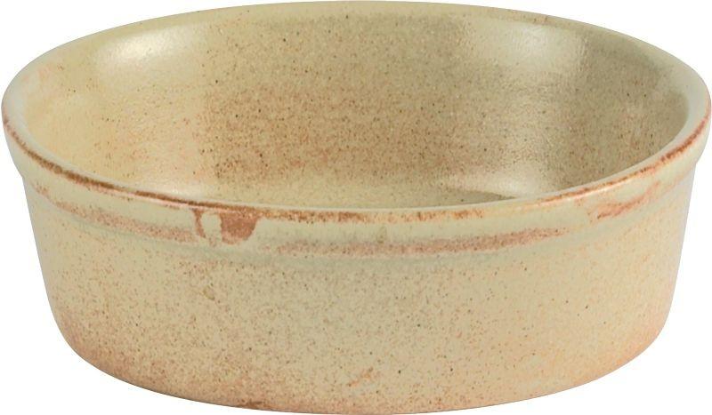 Rustico Llama Pie Oval individual Dish 15cm